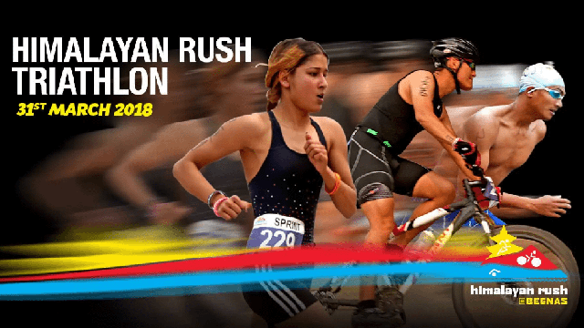 Triathlon in Nepal 2018