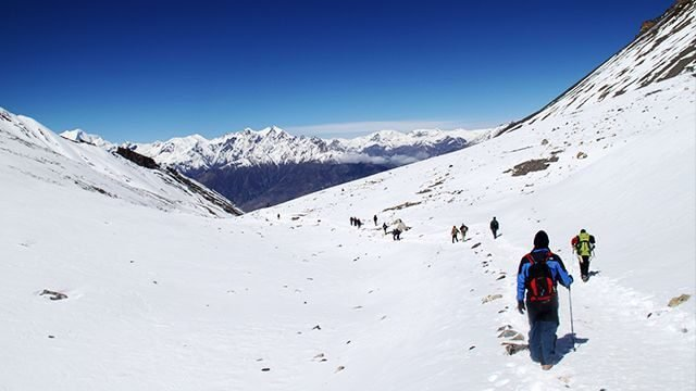 Annapurna Circuit's Highest Point