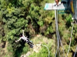 bungy jumping travel story