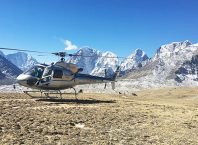 popular helicopter trips in nepal