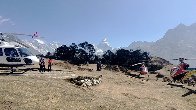 Heli Tour to Everest Base Camp and Kala Patthar